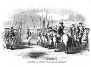 Surrender of British Standards at Yorktown
