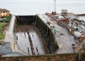 No 4 Dock at John Laird Shipbuilders