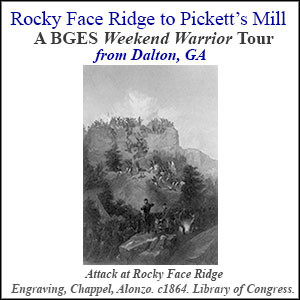 Attack at Rocky Face Ridge