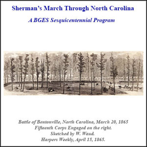 Sherman's March Through North Carolina