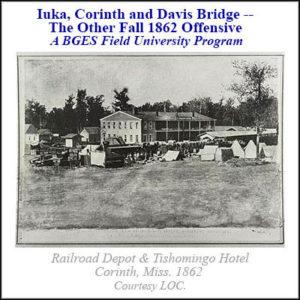 Iuka Corinth and Davis Bridge