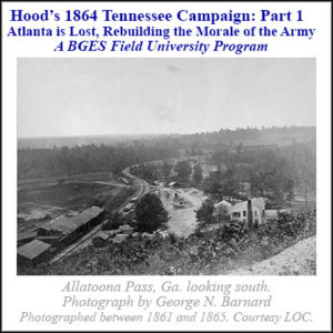 The Tennessee Campaign Part 1